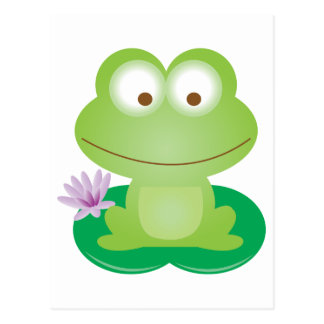 Happy Frog Postcard