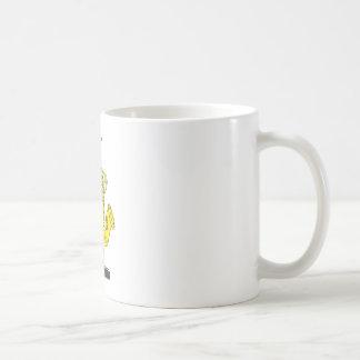 Happy Frog Saxophone Artist Basic White Mug