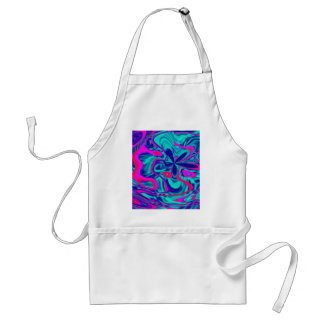 HAPPY FUNKY ABSTRACT 2 APRON