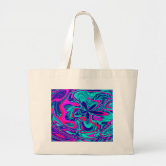 HAPPY FUNKY ABSTRACT 2 TOTE BAGS