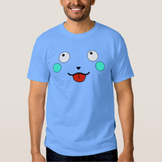 Happy Furry Anime Friend Smiley Face T Shirt