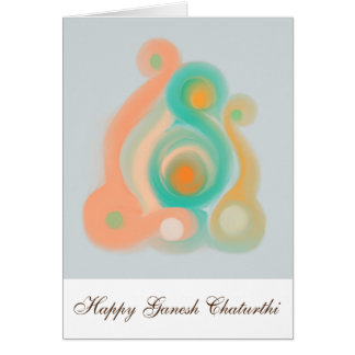 Happy Ganesh Chaturthi Card