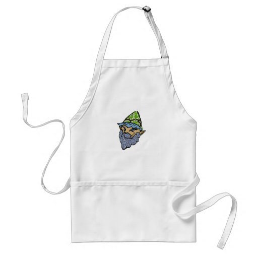 Happy Garden Gnome Aprons