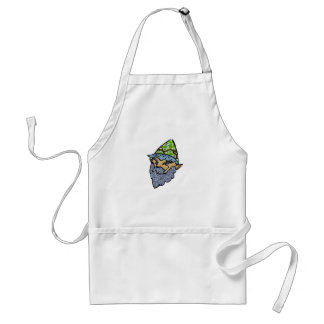 Happy Garden Gnome Standard Apron
