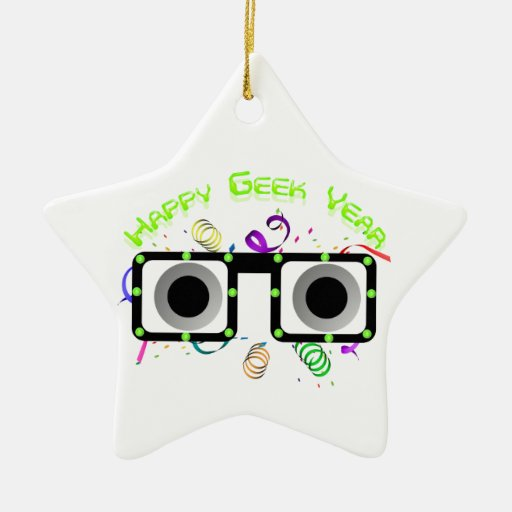 Happy Geek Year Ornament