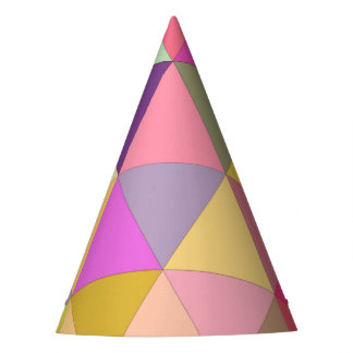 Happy geometry party hat