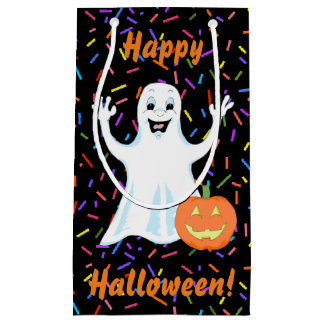 Happy Ghost Halloween Gift Bag