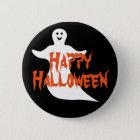 Happy Ghost Happy Halloween 6 Cm Round Badge