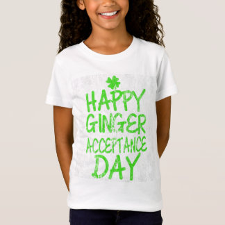 Happy Ginger Acceptance Day DS T-Shirt