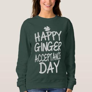 Happy Ginger Acceptance Day Green Sweatshirt