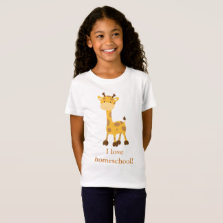 Happy Giraffe Homeschool T-Shirt