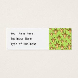 Happy Giraffes. Mini Business Card