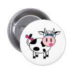 Happy Girl Cow Pin