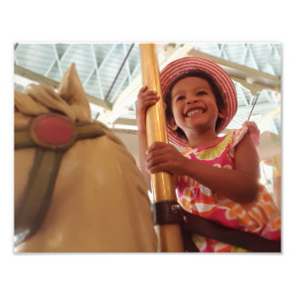 Happy Girl Photo Print
