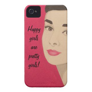 Happy Girls Are Pretty Girls!:Cute Blackberry Case