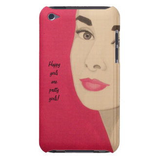 Happy Girls Are Pretty Girls!: Cute Phone Case iPod Case-Mate Cases