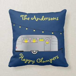 Happy Glamper Vintage Streamline Trailer Cushion