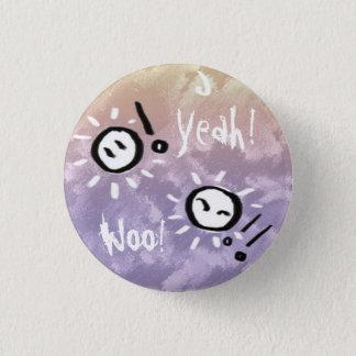 Happy Go Lucky Button