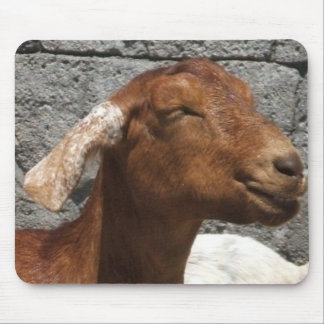 Happy Goat Mouse Pads