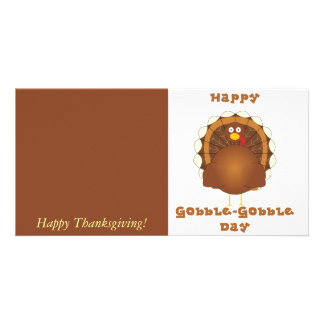 Happy Gobble-Gobble day Photo Card