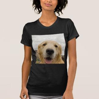Happy Golden Retriever T-shirts