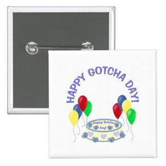 Happy Gotcha Day Pins