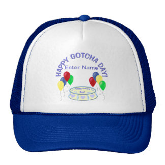 Happy Gotcha Day Trucker Hat