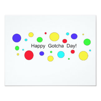 Happy Gotcha Day! Card