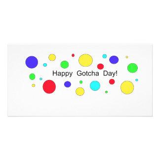 Happy Gotcha Day! Personalised Photo Card