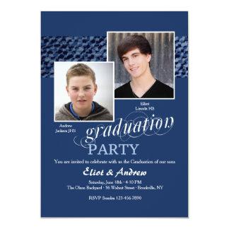 Happy Graduates Photo Invitation