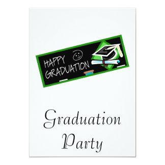 Happy Graduation 13 Cm X 18 Cm Invitation Card
