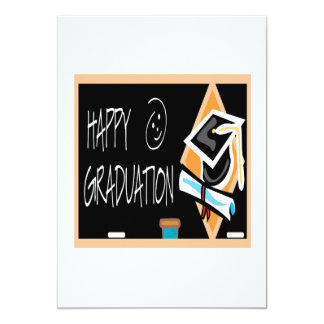 Happy Graduation 2 13 Cm X 18 Cm Invitation Card