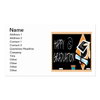 Happy Graduation 2 Pack Of Standard Business Cards