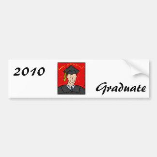 Happy Graduation Bumper Stickers