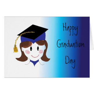 Happy Graduation Day Greeting Card