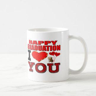 Happy Graduation I Love You Basic White Mug