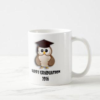 Happy graduation mug. basic white mug