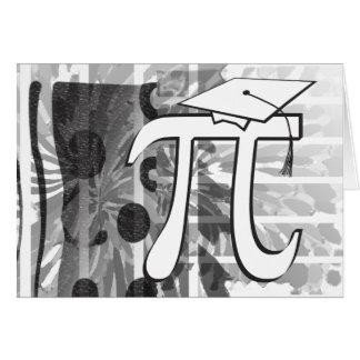 Happy Graduation - Pi Graduate - Funny Graduation Note Card