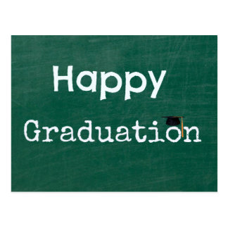 Happy Graduation Postcard