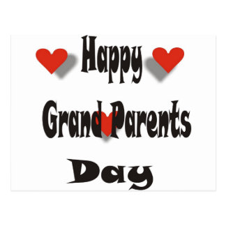Happy Grand Parents Day Postcard