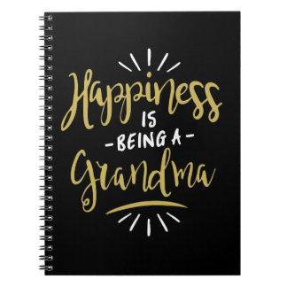 Happy Grandma Notebook