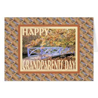 Happy Grandparents Day-Bridge Greeting Card