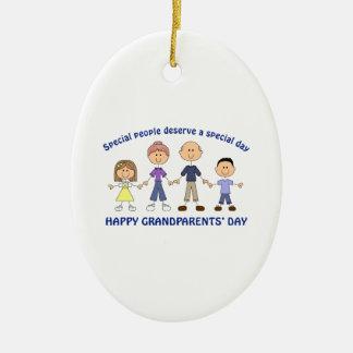 HAPPY GRANDPARENTS DAY ORNAMENT