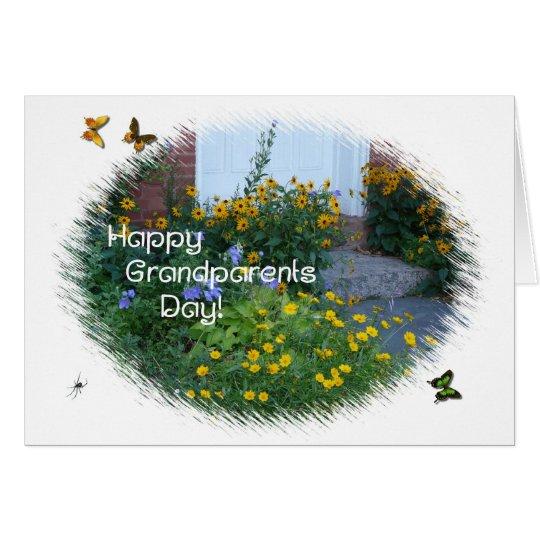 Happy Grandparents Day-Garden Flowers Card