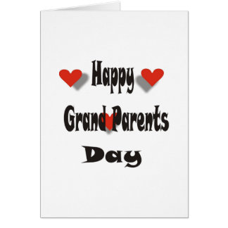 Happy Grandparent's Day Greeting Card