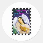 Happy Greek Easter Round Sticker