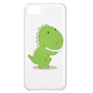 Happy Green Dino Cover For iPhone 5C