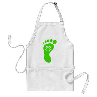 Happy Green Foot Standard Apron