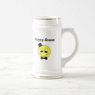Happy Groom Beer Stein