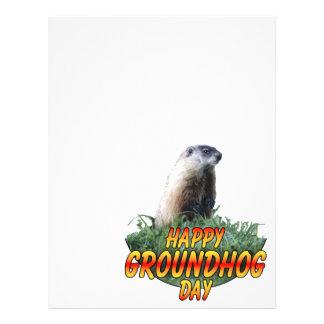 Happy Groundhog Day 21.5 Cm X 28 Cm Flyer